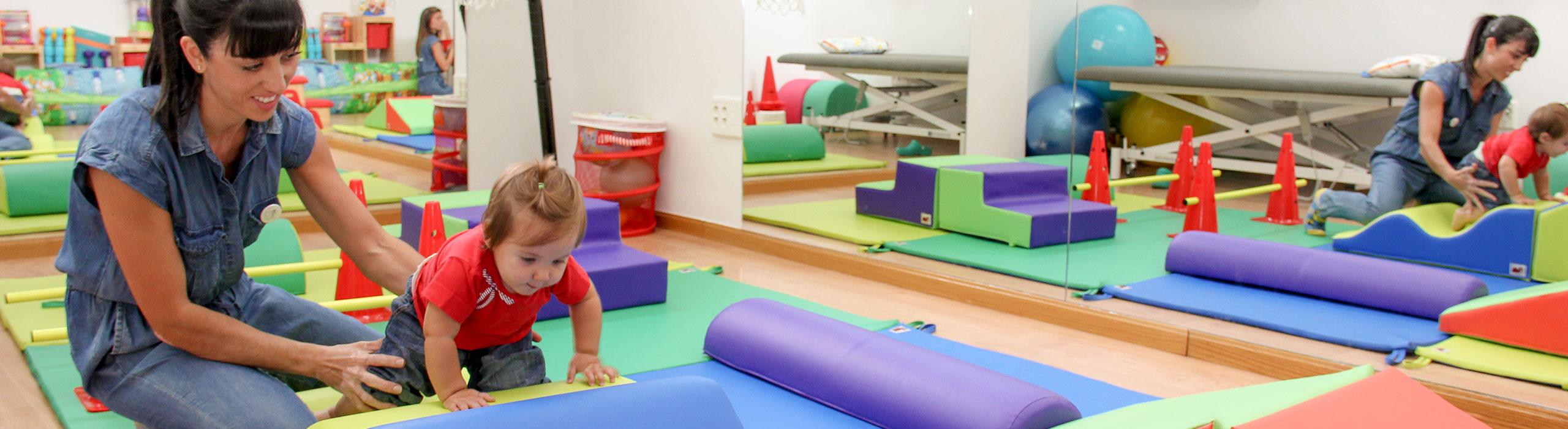 Juegos y materiales infantiles en EmMe Fisioterapia